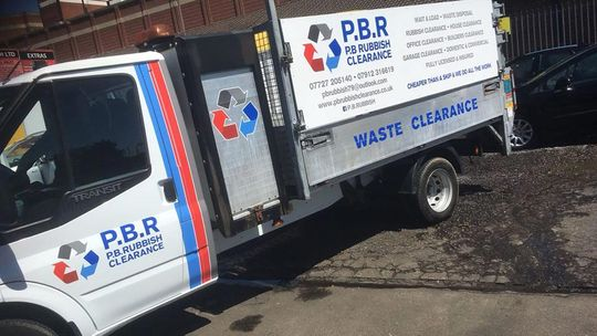 PB Clearance clearance van on a job